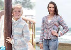 Herringbone Jackets Brand: Elle Yarn: Mischief Size From: 62 cm Size To: 117 cm Baby Patterns, Knitting Patterns, Herringbone Jacket, Jacket Brands, Baby Kids, V Neck, Lady, Children, Blouse