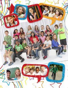 Elementary School Yearbook Sample | YearbookLife More