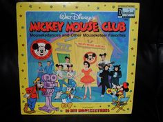 1975 Disney Mickey Mouse Club Record Album - Records, Tapes, CDs