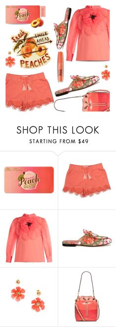 """""""⚜ #657 ..."""" by wonderful-paradisaical ❤ liked on Polyvore featuring Too Faced Cosmetics, Chloé, Gucci, MICHAEL Michael Kors, polyvorecommunity, summerfashion and polyvoretrend"""
