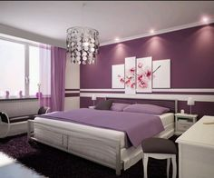 Purple Interiors - http://www.decorhomeideas.com/purple-interiors/