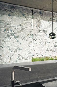 Alum window shades by Creation Baumann