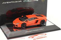 CK-Modelcars - 54647: Lamborghini Aventador LP 700-4 Год 2011 оранжевый металлик 1:43 AUTOart, EAN 674110546477
