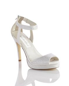 Add These Rhinestone Encrusted Platform Sandals To Finish Your Bridal Or Special Occasion Look Style Shoe BoutiqueBridal