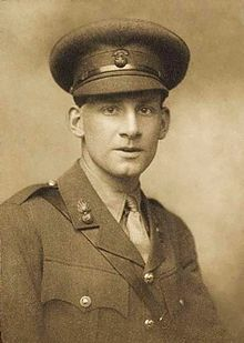 Siegfried Sassoon, CBE MC (1886 – 1967) was an English poet, author and soldier. Decorated for bravery on the Western Front, he became one of the leading poets of the First World War.