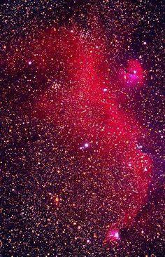 Seagull Nebula | ESO capture (reds enhanced)
