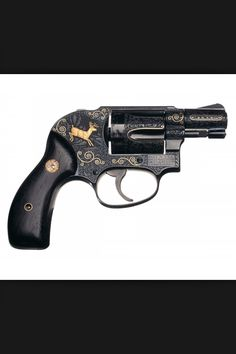 Perfect Factory Engraving. Smith & Wesson M-39 Bodyguard Double Action. Produced: December 02, 1959. Want this engraving!