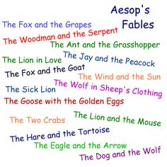 Aesop was born in the year 620 B. C. in Greece. He was born a slave. His first master was Xanthus and his second master was Jadmon. Aesop was granted his freedom by Jadmon. After gaining his freedom Aesop raised his status from slavery to one of high respect. He traveled through many countries.