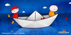 Madotta paper boat