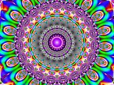 Colours by on deviantART Fractal Design, Fractal Art, Fractals, Enchanted Kingdom, Psychedelic Art, Coloring Books, Beautiful Flowers, Digital Art, Arts And Crafts