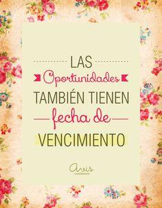 ♥las oportunidades*...