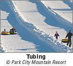 Tubing was the best in Park City, Utah!