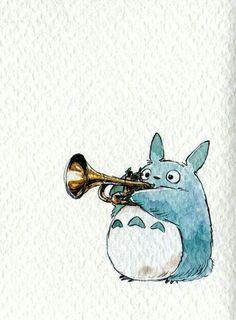 Totoro bebé; Hayao Miyazaki; Studio Ghibli; Ghibli World.