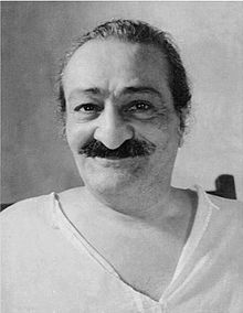 "From Meher Baba, ""Don't worry, be happy."