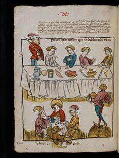 Basel, Universitätsbibliothek, A II 5, f. 160r – Nycolaus de Lyra, Postilla super Ieremiam, Danielem, in Machabaeorum et Iudith http://www.e-codices.unifr.chen/ubb