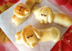 Dog-Shaped Bread Rolls: Sleeping Dachshund Wiener Sausage Bread