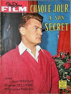 https://youtu.be/l5zA-mPLpds /////// Chaque jour a son srcret Film complet💛💛💙💙///////💜💜💙💙Chaque jour a son secret, réalisateur Claude Boissol. Sorti dans la salle le 11 Juin 1958.Avec Jean Marais, Danièle Delorme, Françoise Fabian, Marcelle Praince , Denise Gence , Yves Brainville ///////// Every day has its secret , directed by Claude Boissol. Released on the 11 June 1958