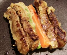 soegogisanjeok (beef and vege pancake)