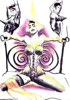 Blond Ambition costume design by Jean-Paul Gaultier