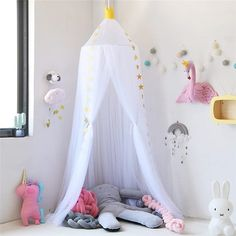 Baby Bedding Impartial Round Baby Bed Mosquito Net Dome Hanging Cotton Bed Canopy Mosquito Net Curtain For Hammock Baby Kids Anti-mosquito