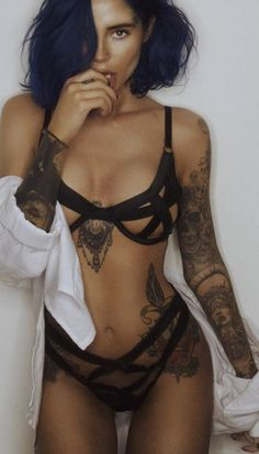 "itsall1nk: ""More Hot Tattoo Girls at http://itsall1nk.tumblr.com """