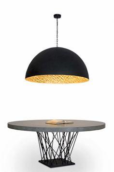 Colgante Espectacular de fibra grande #lamparas #iluminacion #interiorismo #decoracion #hogar #luminarias #diseño #iluminable