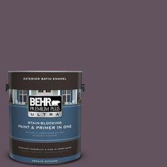 BEHR Premium Plus Ultra 1-gal. #690F-7 Indulgent Satin Enamel Exterior Paint