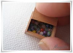 These are tiny marbles!