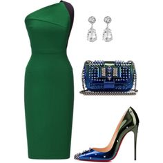 A fashion look from May 2016 featuring Roland Mouret dresses, Christian Louboutin pumps and Christian Louboutin clutches. Browse and shop related looks.