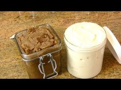 Homemade DIY Whipped Shea Butter & Sugar Scrub Recipes |Cooking With Carolyn - YouTube