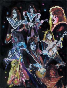 Ace Frehley Prisma collage by choffman36.deviantart.com on @deviantART