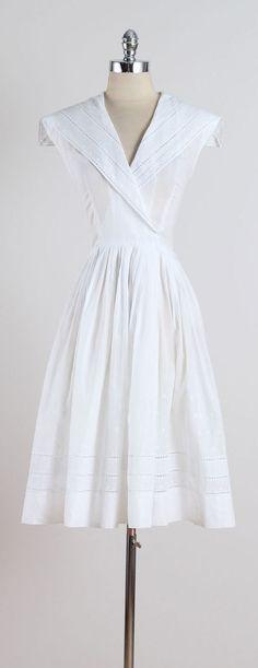 Calanica . vintage 1950s dress . vintage by millstreetvintage