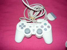 Official Sony PSOne PlayStation 1 PS1 White DualShock Controller SCPH 110 | eBay