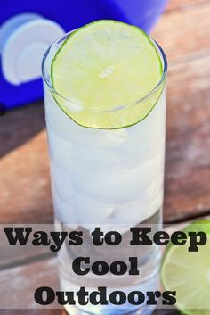 The warm, hot weather is coming and that means many of us will be seeking ways to keep cool. Check out these ten ideas, and how you can get pure, filtered water out of your 5 gallon jug! Not everyone can keep cool with a pool so these outdoor ways to keep cool are a must! #ad #H20hero #cool #keepcool