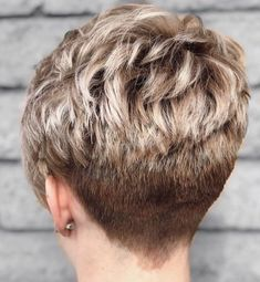 Hairstyles For Black Women .Hairstyles For Black Women Short Hair Older Women, Short Hair Back, Pixie Haircut For Thick Hair, Funky Short Hair, Super Short Hair, Short Grey Hair, Short Hair With Layers, Short Hairstyles For Thick Hair, Haircuts For Fine Hair