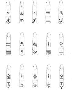 Finger Tattoo Designs, Finger Tattoo For Women, Small Finger Tattoos, Cute Tiny Tattoos, Hand Tattoos For Women, Dainty Tattoos, Henna Tattoo Designs, Symbolic Tattoos, Mini Tattoos