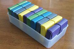 Flash card organization.  Brilliant!