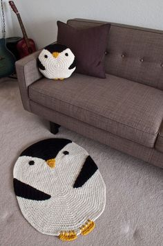 Crochet penguins!