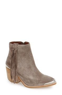 Jeffrey Campbell 'Pascal' Fringe Western Bootie (Women) available at #Nordstrom
