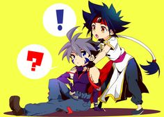 Beyblade G Revolution  Ray and Kai