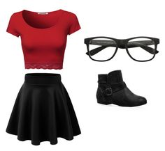 """""""Outfit Idea by Polyvore Remix"""" by polyvore-remix ❤ liked on Polyvore featuring Avenue"""