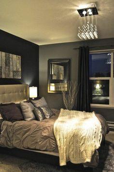tete de lit captionné dans la chambre a coucher de style retro chic