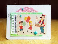 art scrap & more: ✣ a Card & a Sketch 2015 (13) - Kids' Bday ✣