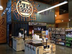 Shipping Container being used at Whole Foods
