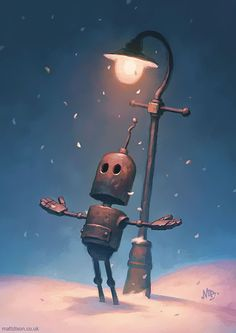 Lonely Robots Experiencing The Quiet Wonder Of The World (Part 2)