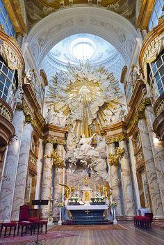 karlskirche vienna | Vienna, Karlskirche | Flickr - Photo Sharing!