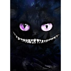Julien KALTNECKER The Cheshire Cat ($15) ❤ liked on Polyvore featuring backgrounds, alice in wonderland, alice, characters, art and filler