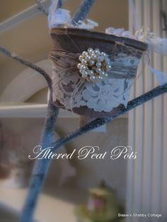 Altered Peat pot inspiration