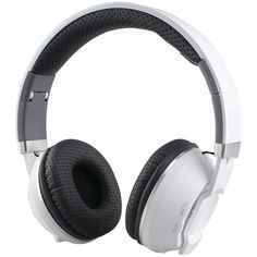Supersonic Over-ear Bluetooth Headphones With Microphone (white)