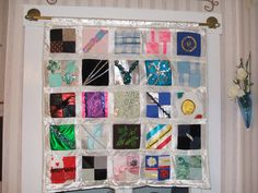 A commisioned quilt made out of dance costumes for Taylin's 21st birthday.